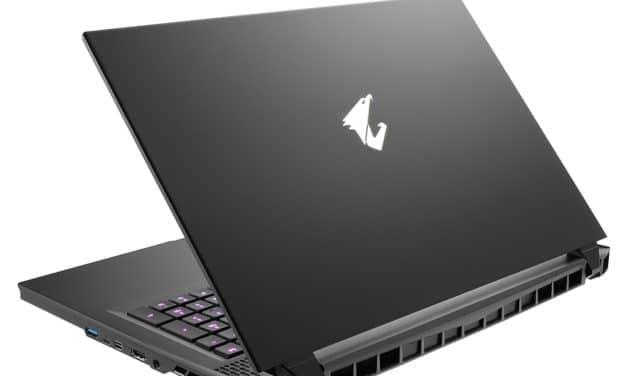 "Gigabyte Aorus 17G YC-8FR6450SH, PC portable 17"" 300Hz gamer puissant RTX 3080 créateur RAM 32 Go TB3 (2879€)"