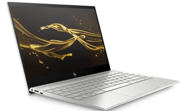 "HP Envy 13-aq1015nf, Ultrabook 13"" argent nomade rapide léger et fin avec SSD 8h30 (919€)"