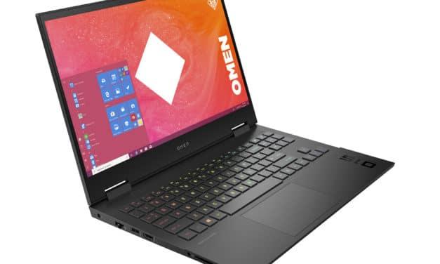 HP Omen 15-en0151nf, PC gamer sobre 15 pouces polyvalent et jeu avec Octo Core et RTX (1234€)