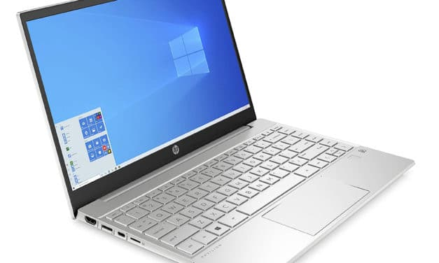 """HP Pavilion 13-bb0016nf, Ultrabook 13"""" argent polyvalent léger fin et rapide avec Tiger Lake, Iris Xe et Wi-Fi ax (799€)"""