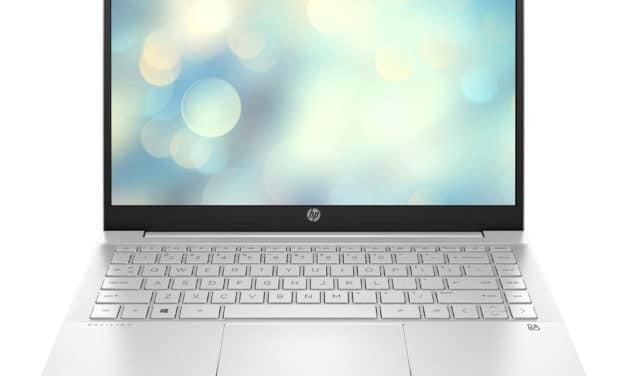HP Pavilion 14-dv0015nf, ultrabook 14 pouces productif avec Iris Xe (664€)