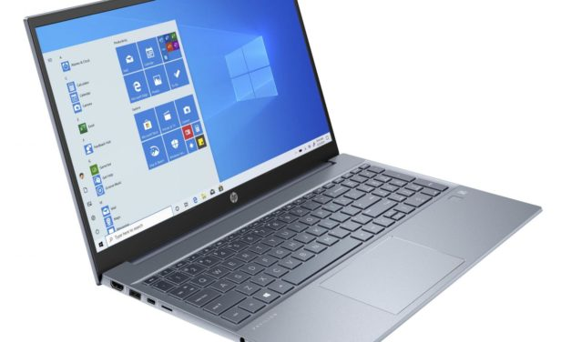 HP Pavilion 15-eh0000nf, ultrabook bleu 15 pouces productif et rapide (719€)