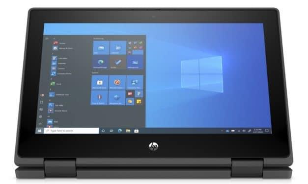 HP ProBook x360 11 G7, ultraportable 2-en-1 tactile 11 pouces convertible en Tablette avec processeur Intel Jasper Lake pour le monde éducatif