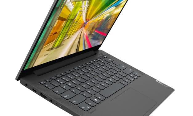 """<span class=""""nouveau"""">Nouveau 1049€</span> Lenovo IdeaPad 5 14ITL05 (82FE00CHFR), Ultrabook 14"""" polyvalent nomade 9h élégant léger fin et rapide Tiger Lake Iris Xe"""