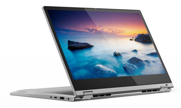 Lenovo IdeaPad C340-14API, 14 pouces convertible en tablette rapide pour bureautique et multimédia (599€)