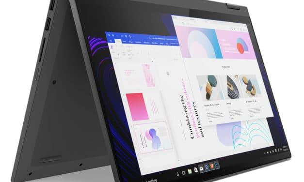 """<span class=""""promo"""">Promo 703€</span> Lenovo IdeaPad Flex 5 14ITL05, 14 pouces convertible tablette bureautique"""