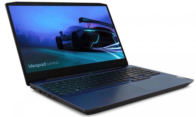 Lenovo IdeaPad Gaming 3 15ARH05, PC portable 15 pouces sobre pour jouer et polyvalence (699€)