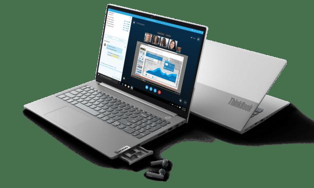 "Lenovo ThinkBook 14 et 15 G2 ITL, Ultrabooks 14"" et 15"" polyvalents Tiger Lake Iris Xe MX450 avec Wi-Fi ax et TB4"