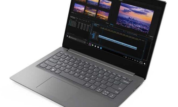 """Lenovo V14-IIL, Ultrabook 15"""" pas cher rapide nomade 7h fin et léger avec SSD (599€)"""
