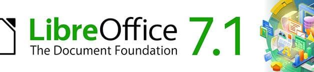 """<span class=""""tagtitre"""">LibreOffice 7.1 - </span>nouvelle édition Community de la suite bureautique gratuite en plus de l'édition Entreprise"""