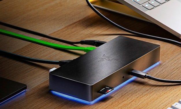 Razer Thunderbolt 4 Dock Chroma et Laptop Stand Chroma v2, stations d'accueil fournies pour augmenter la connectivité des PC portables
