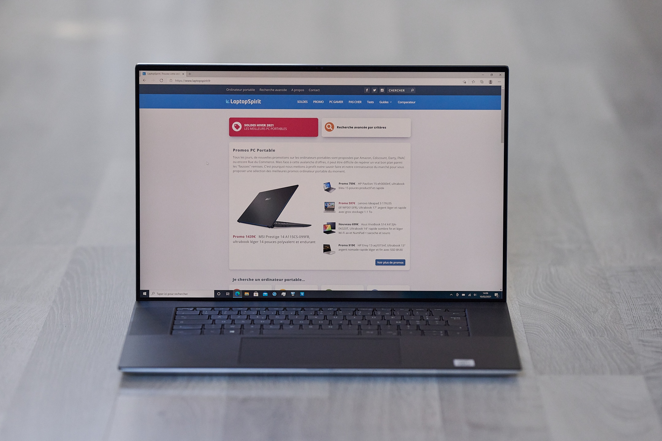 Test Dell XPS 17 9700