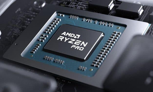 """<span class=""""tagtitre"""">AMD - </span>nouveaux processeurs Ryzen Pro 5000 Cezanne + sécurisés pour PC portables orientés professionnels"""