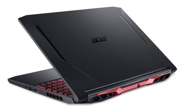 """Acer Nitro 5 AN515-44-R3SQ, PC portable 15"""" 144Hz polyvalent pour créer et jouer 8h avec Octo Core AMD et GTX 1650 Ti (1149€)"""