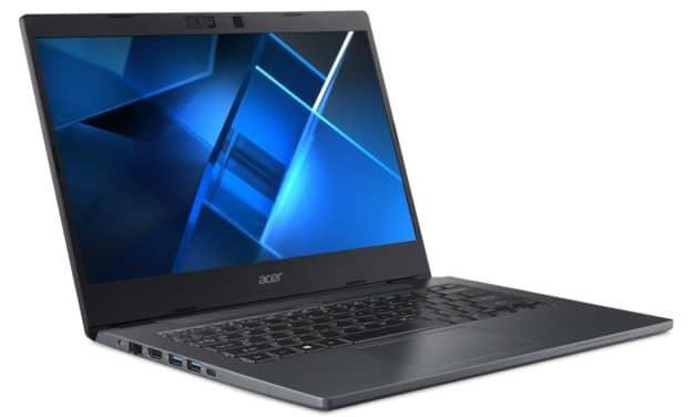 "<span class=""promo"">Promo 1199€</span> Acer TravelMate P4 TMP414-51-79JS, Ultrabook 14"" Pro polyvalent Tiger Lake Iris Xe SSD 1 To"