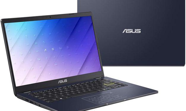 """<span class=""""promo-best"""">Promo 349€</span> Asus Vivobook E406MA-EB672T, ultraportable 14 pouces pas cher, rapide et léger avec dalle IPS et NumPad"""