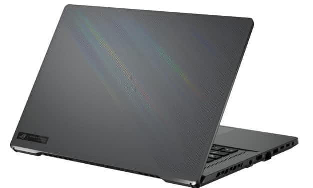 """Asus ROG Zephyrus G15 GA503QM-008T, PC portable 15"""" QHD 165Hz Pantone AMD fin léger gamer créateur RTX 3060 (1918€)"""