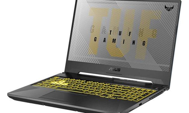 """Asus TUF566IV-AL143T, PC portable gamer puissant 15"""" Ryzen 9, 32 Go RAM et RTX (1599€)"""