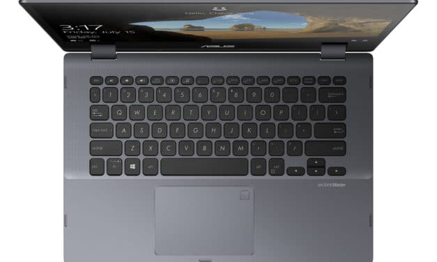 """Asus VivoBook Flip 14 TP412FA-EC495R, Ultrabook 14"""" tactile Tablette Pro argent rapide fin et léger 7h (759€)"""