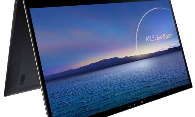 "Asus ZenBook Flip 13 BX371EA-HL328R, Ultrabook 13"" OLED 4K tactile Tablette polyvalent NumPad rapide et léger Tiger Lake Iris Xe (1799€)"