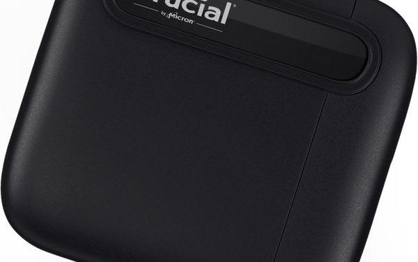Crucial X6 Portable, stockage SSD externe de poche de 512 Go à 4 To, disponible