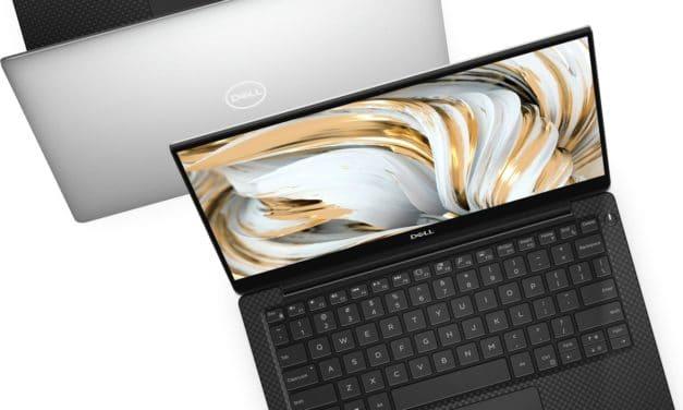"""Dell XPS 13 9305, nouvel Ultrabook 13"""" 4K polyvalent argent/noir avec Tiger Lake Iris Xe et TB4 dès 1199€"""