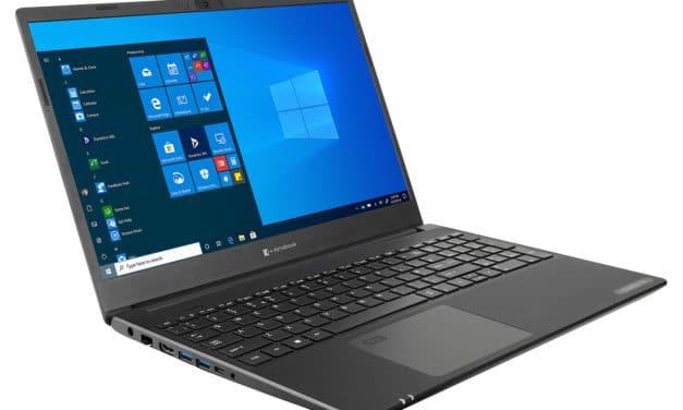 """Dynabook Satellite Pro L50-G-103, Ultrabook 15"""" noir Pro rapide fin et léger avec gros stockage 1.1 To et Wi-Fi ax (765€)"""