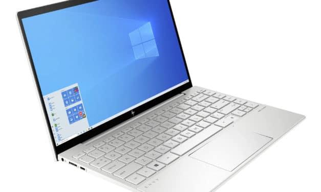 """HP Envy 13-ba1002nf, Ultrabook 13"""" 100% sRGB polyvalent argent léger fin et rapide bien équipé avec TB4 SSD 1 To Tiger Lake Iris Xe (989€)"""