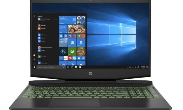 """HP Gaming Pavilion 15-dk1167nf, PC portable 15"""" noir polyvalent performant pour jouer et créer avec GTX 1650 Ti (799€)"""