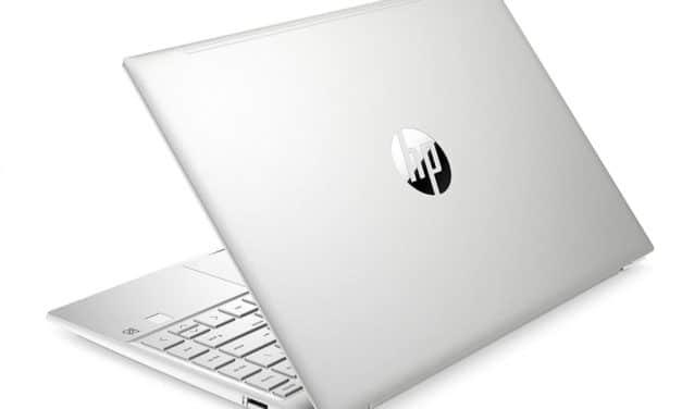 HP Pavilion 13-bb0015nf, ultrabook 13 pouces rapide pour le multimédia avec SSD 1 To (959€)