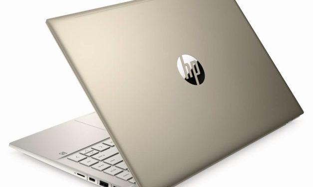 HP Pavilion 14-dv0048nf, ultrabook 14 pouces doré productif et multimédia avec MX350 (798€)