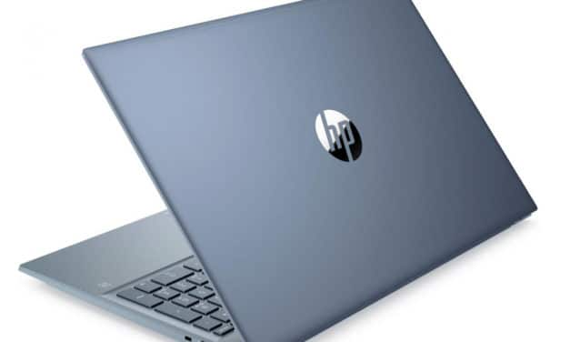 HP Pavilion 15-eg0046nf, ultrabook 15 pouces bleu productif et rapide avec SSD 1 To (761€)