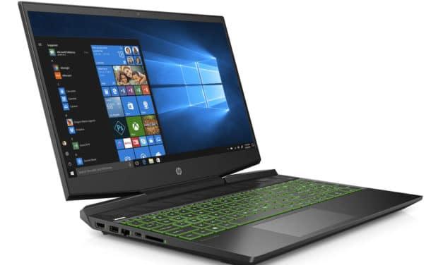 HP Pavilion Gaming 15-dk1424nf, PC portable 15 pouces jeu et polyvalence avec écran 144Hz et 1,2 To de stockage (999€)