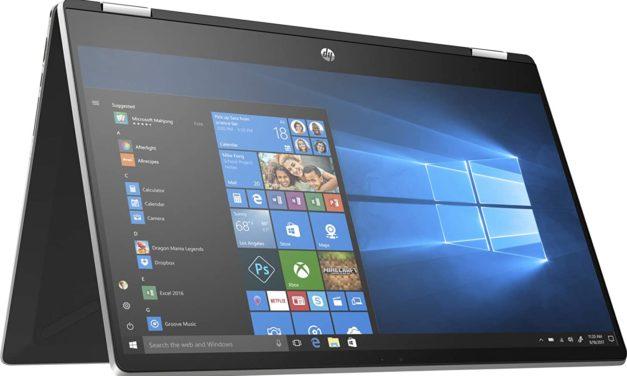 """HP Pavilion x360 15-dq1014nf, Ultrabook 15"""" tactile Tablette argent noir rapide léger et fin (997€)"""