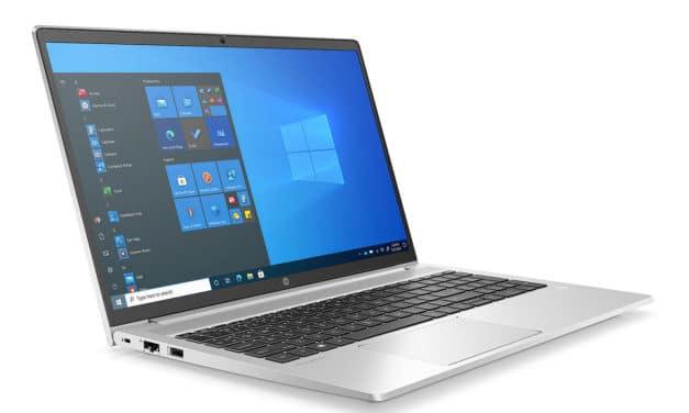 """HP ProBook 450 G8 (2X7F3EA), Ultrabook 15"""" polyvalent Pro argent léger fin et rapide nomade 8h avec Tiger Lake Iris Xe (1053€)"""