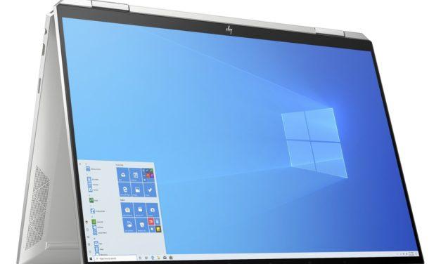 "HP Spectre x360 14-ea0010nf, Ultrabook 13"" tactile Tablette polyvalent Tiger Lake Iris Xe TB4 léger fin et rapide (1519€)"