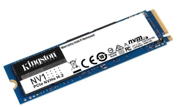 Kingston NV1, nouveau SSD M.2 NVMe compact et abordable, de 500 Go à 2 To