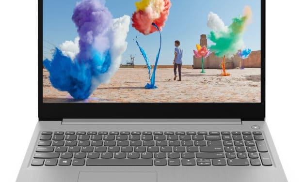 Lenovo IdeaPad 3 15IIL05, ultrabook 15 pouces multimédia (584€)