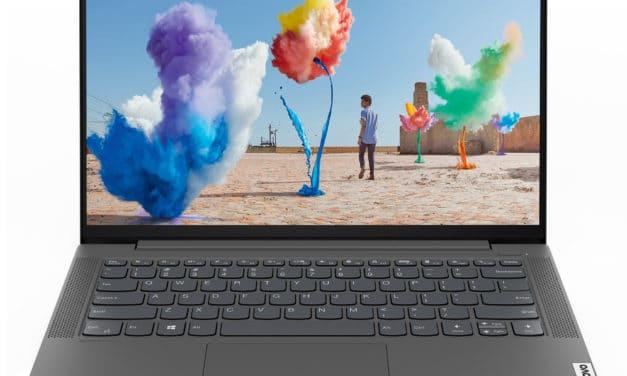"""<span class=""""promo"""">Promo 669€</span> Lenovo IdeaPad 5 14ITL05, ultrabook 14 pouces léger et productif"""