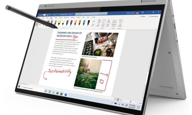 Lenovo IdeaPad Flex 5 15ALC05, 15 pouces convertible tablette polyvalent et rapide avec stylet (879€)