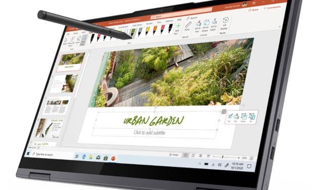 Lenovo Yoga 7 15ITL5, ultrabook 15 pouces convertible en tablette rapide et polyvalent (1119€)