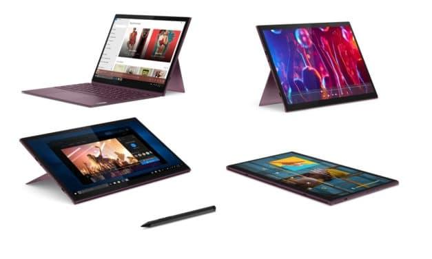 """Lenovo Yoga Duet 7 13ITL6, Ultrabook 13"""" 16/10ème tactile Tablette 2-en-1 polyvalent coloré avec Intel Tiger Lake Iris Xe et TB4, 13h"""