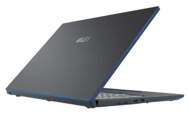 """MSI Prestige 15 A11SCS-077FR, Ultrabook 15"""" rapide fin léger et nomade 10h pour créateurs et gamer GTX 1650 Ti TB4 (1702€)"""