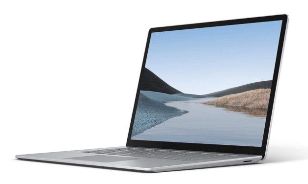 """<span class=""""tagtitre"""">Microsoft Surface Laptop 4 - </span>sortie le 27 avril en 13"""" et 15"""", dans des configurations AMD et Intel"""