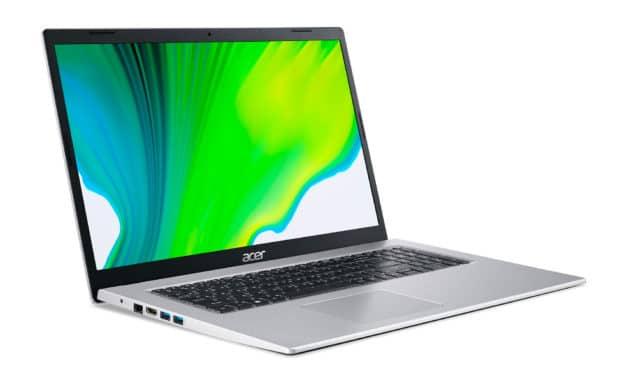 Acer Aspire A317-33-C4YH, PC portable 17 pouces pas cher et fin pour la bureautique (399€)