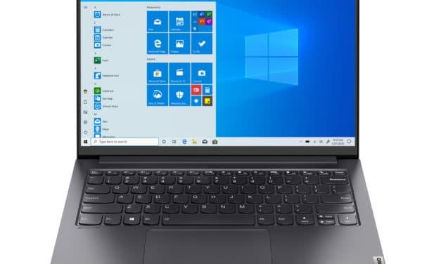 Lenovo Yoga Slim 7 Pro 14ITL05, ultrabook 14 pouces productif avec écran 2.2k 16:10 (1279€)