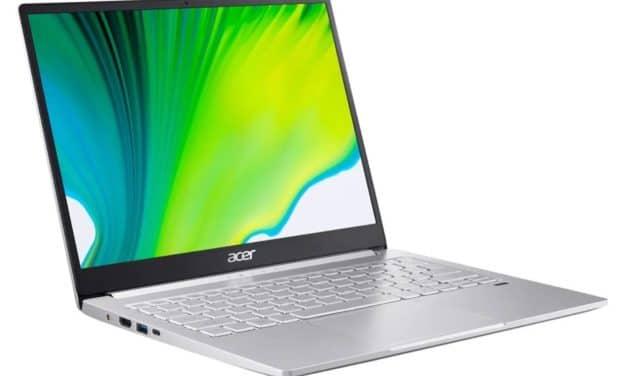 """<span class=""""nouveau"""">Nouveau 1199€</span> Acer Swift 3 SF313-53-79KT, ultrabook 13 pouces léger et rapide QHD+ multimédia avec SSD 1 To"""