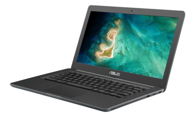 """Asus Chromebook C403NA, PC portable 14"""" bureautique d'entrée de gamme sous Google Chrome OS pour les écoliers"""