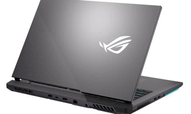 """Asus ROG Strix G17 G713QM-HX038T, PC portable 17"""" 144Hz gamer créateur RTX 3060 Ryzen 7 Octo Core (1999€)"""
