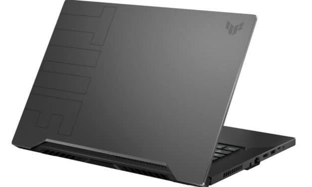 "Asus TUF Dash F15 FX516PR-HN033T, Ultrabook 15"" 144Hz gamer puissant 14h RTX 3070 Tiger Lake-H TB4 (1499€)"